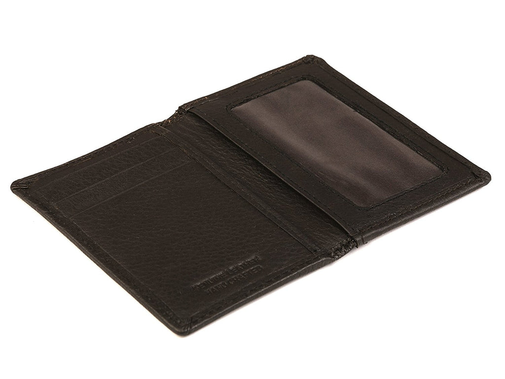 Slim Leather Credit Card Wallet