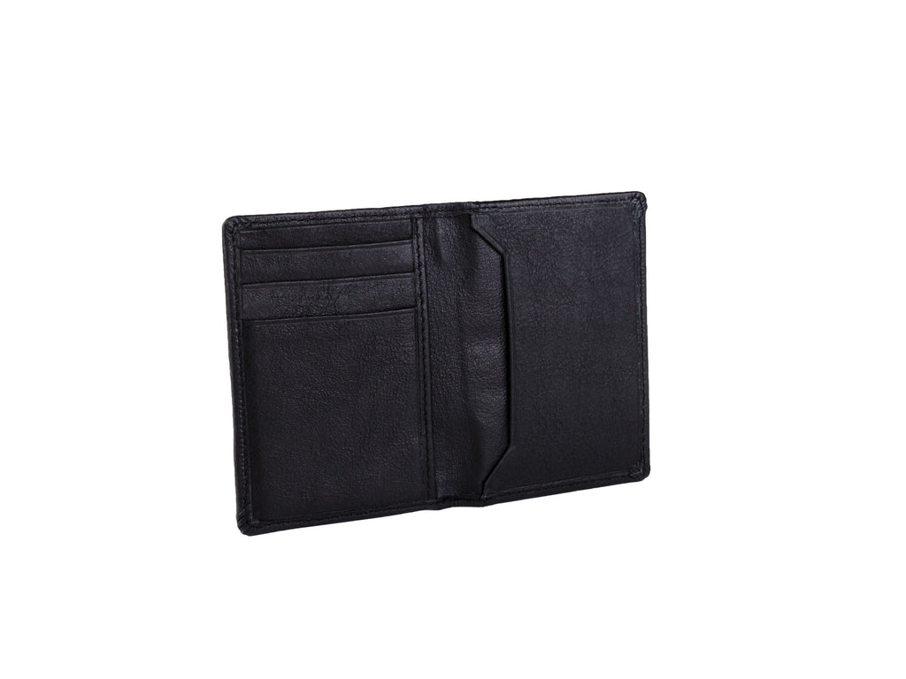 Dwellbee Slim Leather Credit Card Bifold Wallet with RFID Blocking Protection