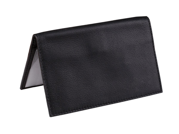 Deluxe Leather Checkbook and Register Cover with Pen Holder