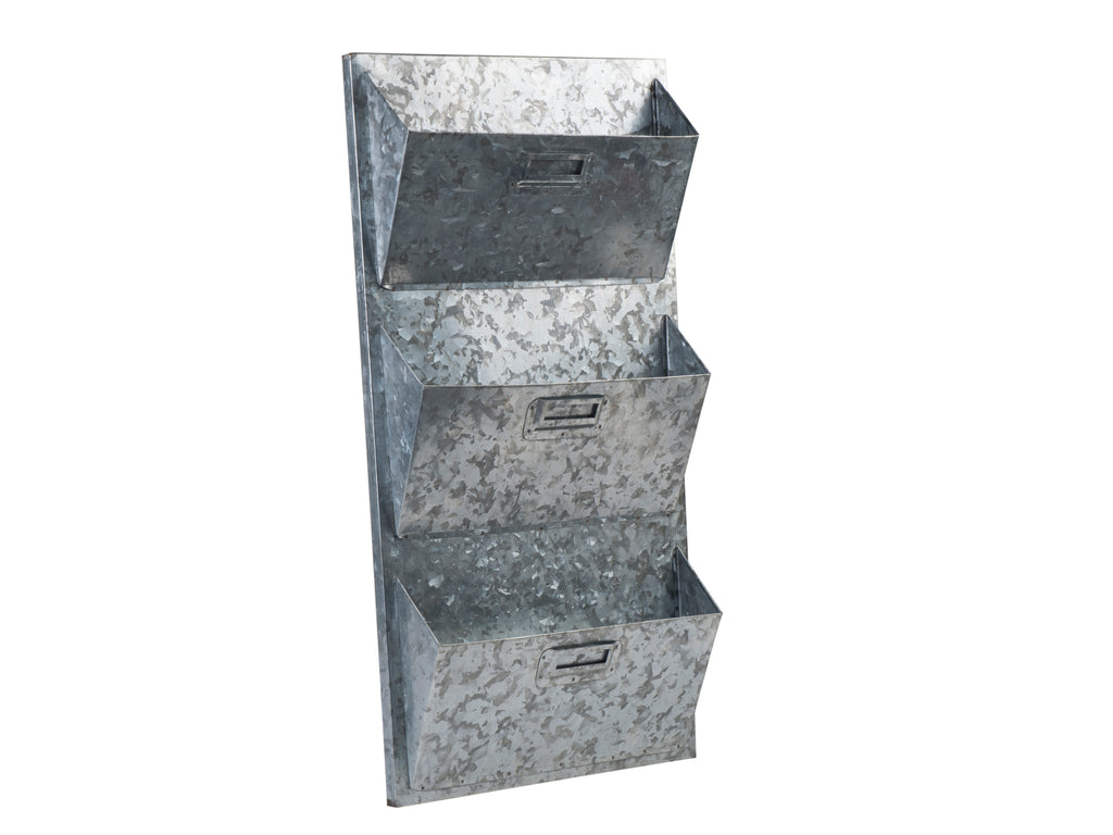 Metal Wall Storage and Mail Sorter