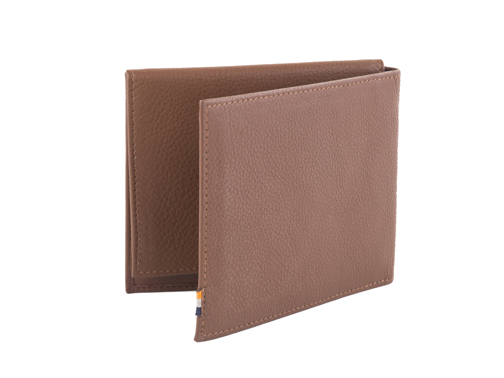 Dwellbee RFID Blocking Passport Wallet and Travel Document Organizer (Buffalo Leather)