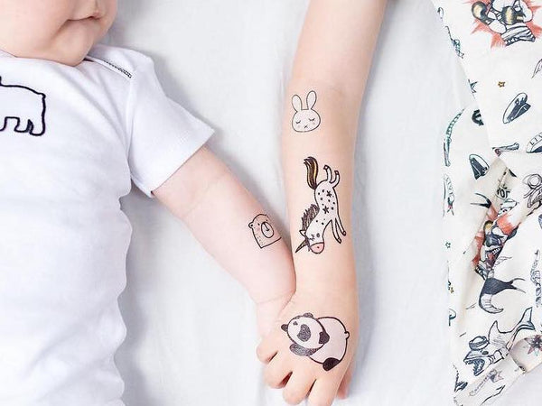 Skin safe kids tattoos
