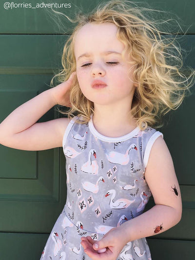 DUCKY STREET kids temporary Tattoo Beetles designed by Anastasia Lembrik - 6