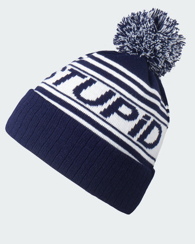 Navy Bobble