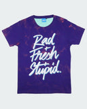 Purple Acid Wash