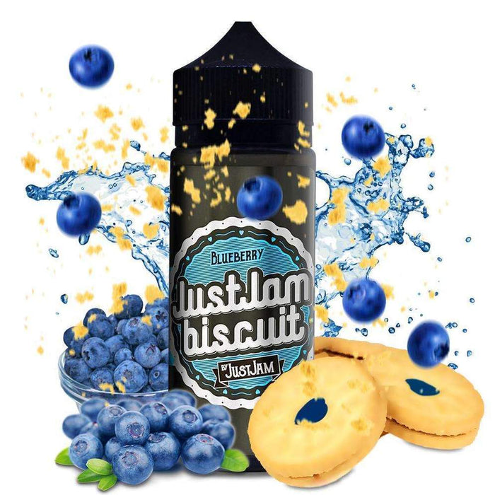 Blueberry Just Jam Biscuit