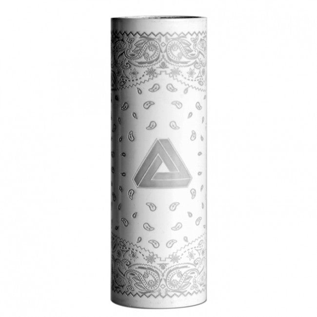 White Bandanna Sleeve For Limitless Mod - Gorilla Vapes - Limitless Sleeves - Limitless Mod Co -