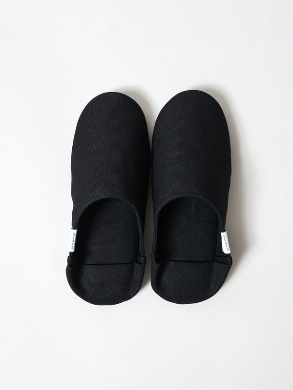 ABE Canvas Home Shoes, Black