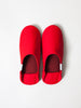 ABE Canvas Home Shoes, Red