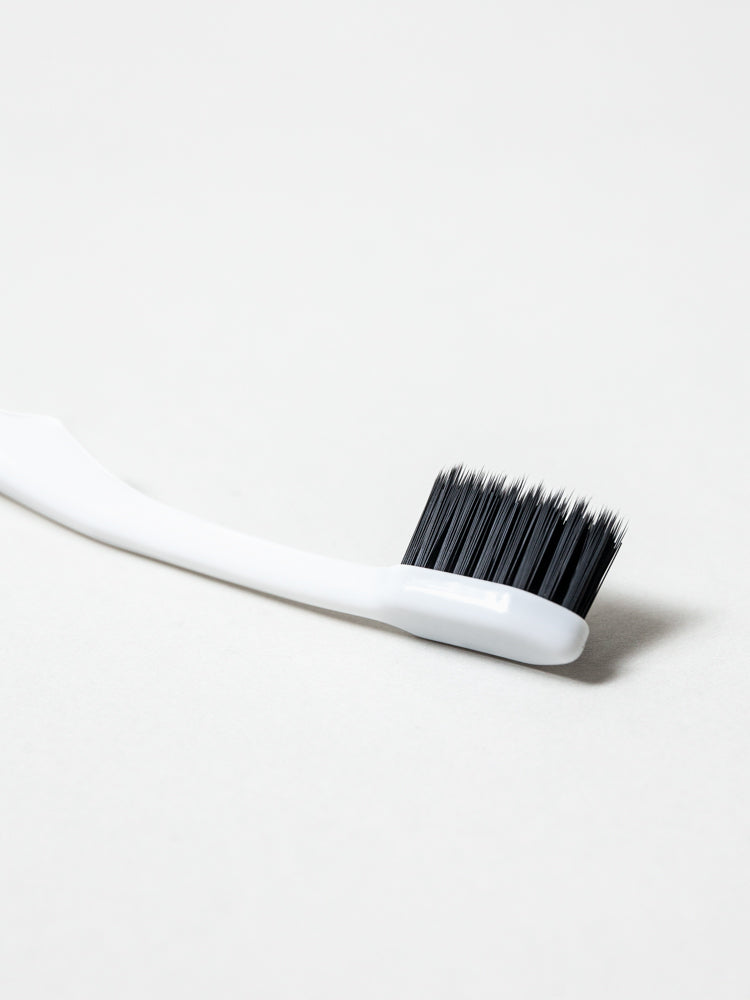Binchotan Charcoal Toothbrush - Soft Bristles - White