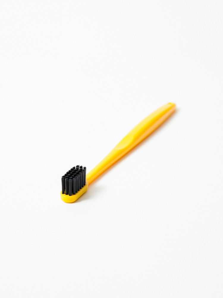 Binchotan Charcoal Toothbrush - Standard, Yellow