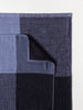 Chambray Block Towel, Grey/Black