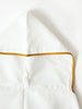 Baby Hooded Bath Towel, Marigold Trim