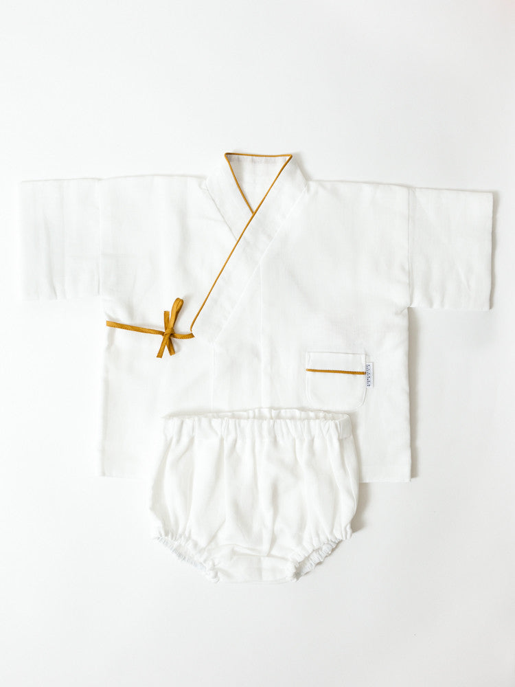 Layered Gauze Baby Top and Pant Set