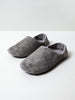 Leather Room Shoes, Grey