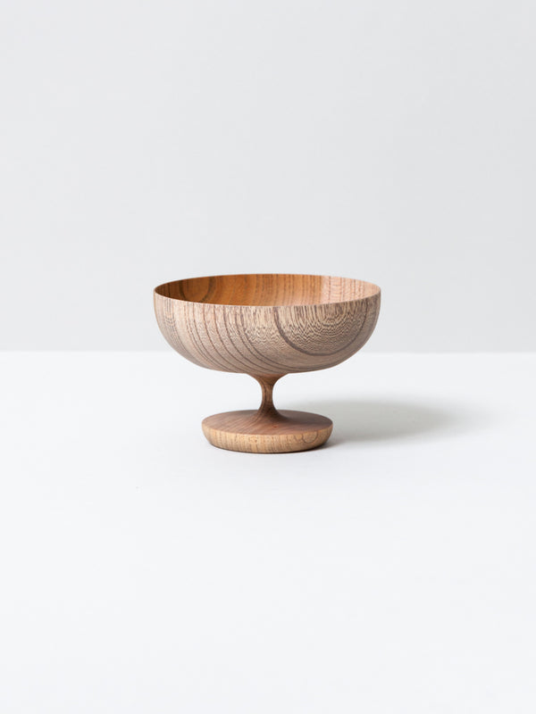 Sinafu Small Stand Bowl - Hotei (Smoky Grey)