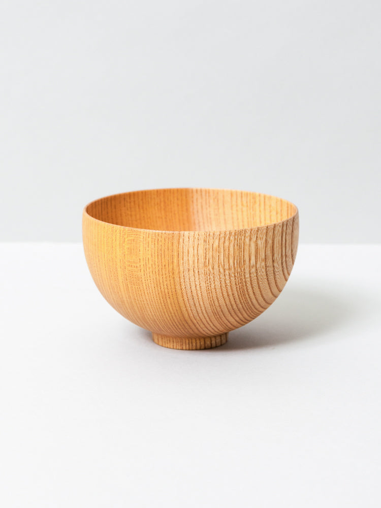 Tsumugi Wooden Bowl - Sensai, Natural
