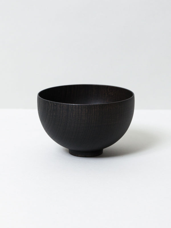 Tsumugi Wooden Bowl - Sensai, Black