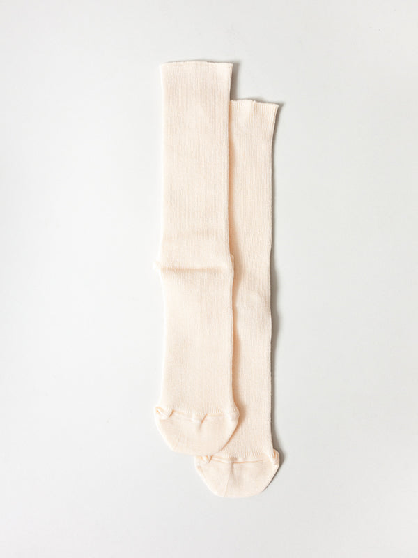 Extra Stretch Socks, Apricot
