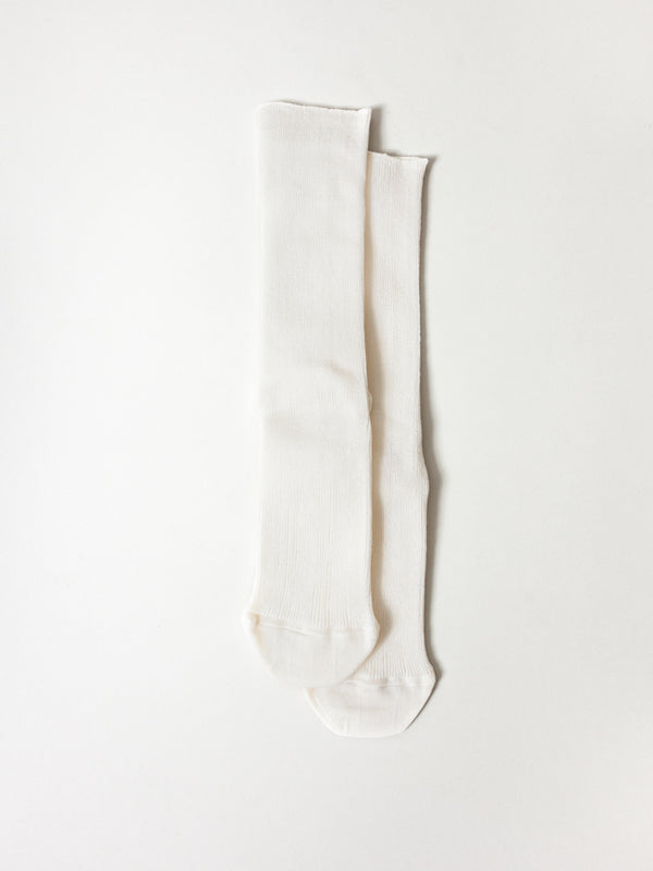 Extra Stretch Socks, Off White