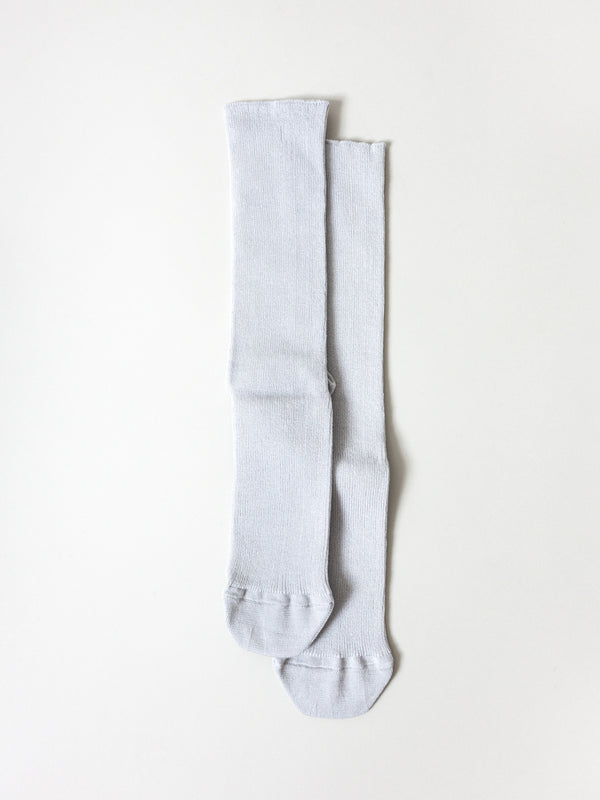 Extra Stretch Socks, Pale Grey