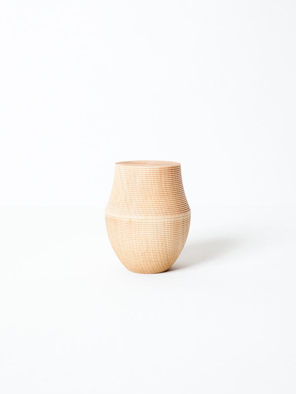 Karmi Tea Canister, Kama - Natural