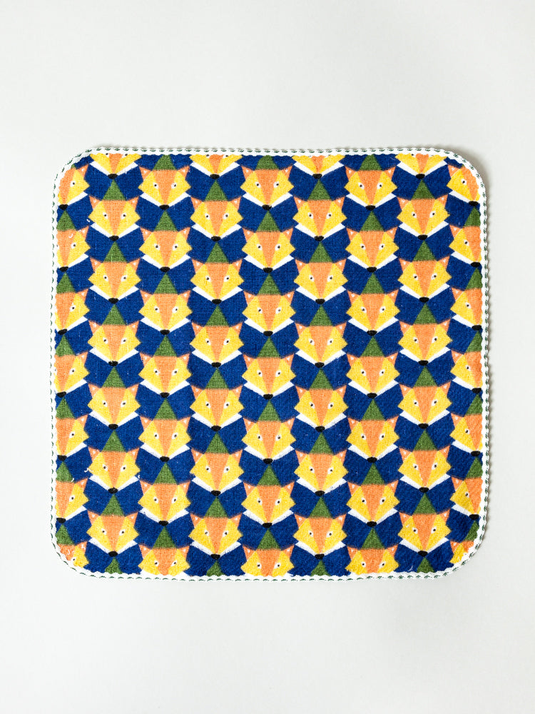 Haikara Little Handkerchief, Blue Fox