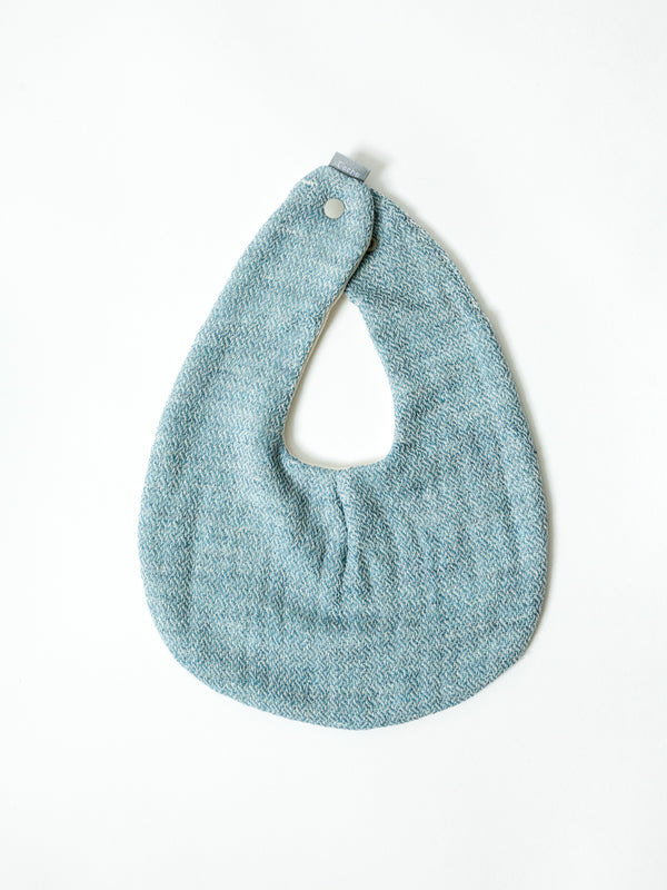 Claire Baby Bib, River Blue