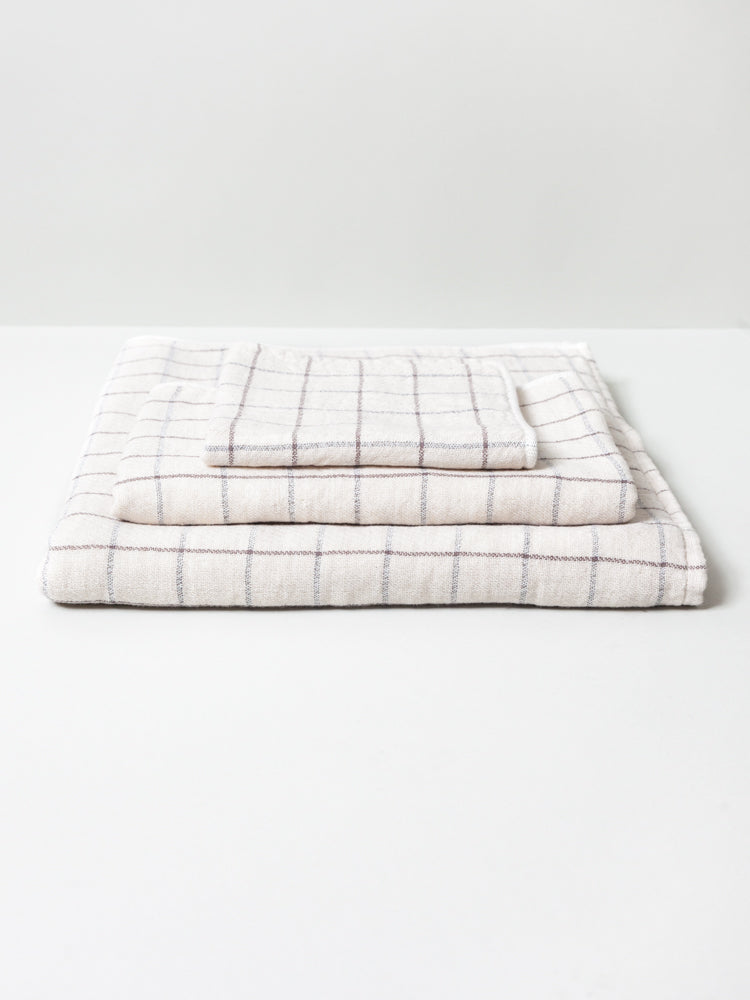 Graph Towel, Ivory