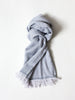 Haolu Cotton Wool Stole, Pewter