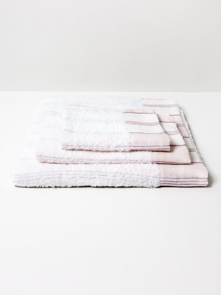 Lola Towel, Pink Stripe