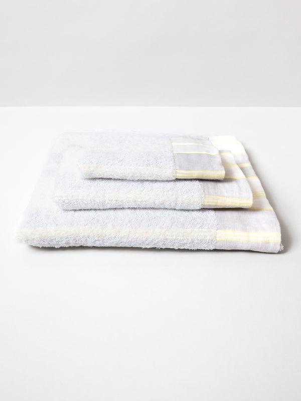 Lola Towel, Yellow Stripe