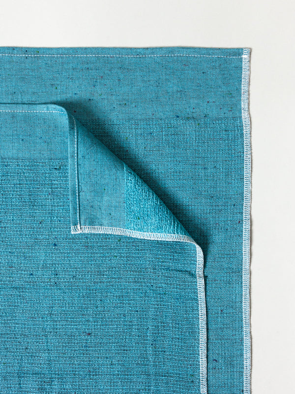 Moku Light Towel, Blue Green