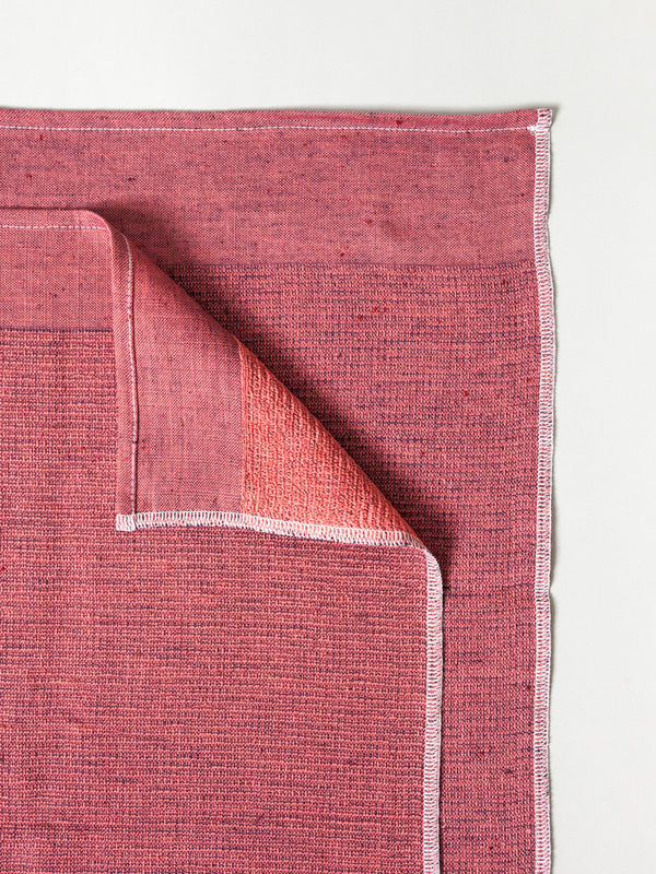 Moku Light Towel, Maroon
