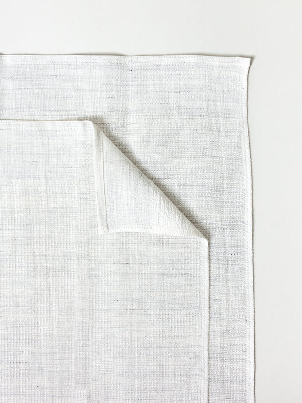 Moku Linen Towel, Light Grey