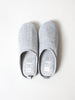 Moku Linen Room Shoes, Charcoal