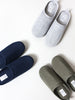 Moku Linen Room Shoes, Ink Blue