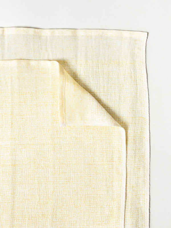 Moku Linen Towel, Yellow