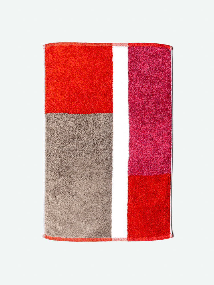 Piet Bath Mat, Red
