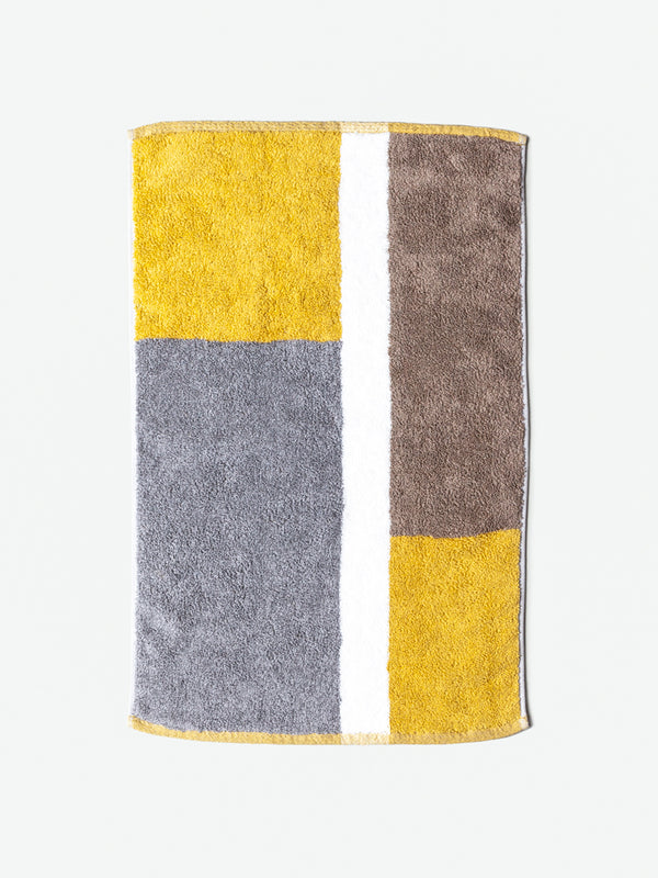 Piet Bath Mat, Yellow