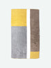 Piet Towel, Yellow
