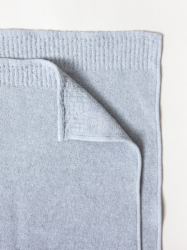 Re.Lana Towel, Blue Grey