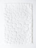 Ishikoro Pebble Stone Bath Mat, White
