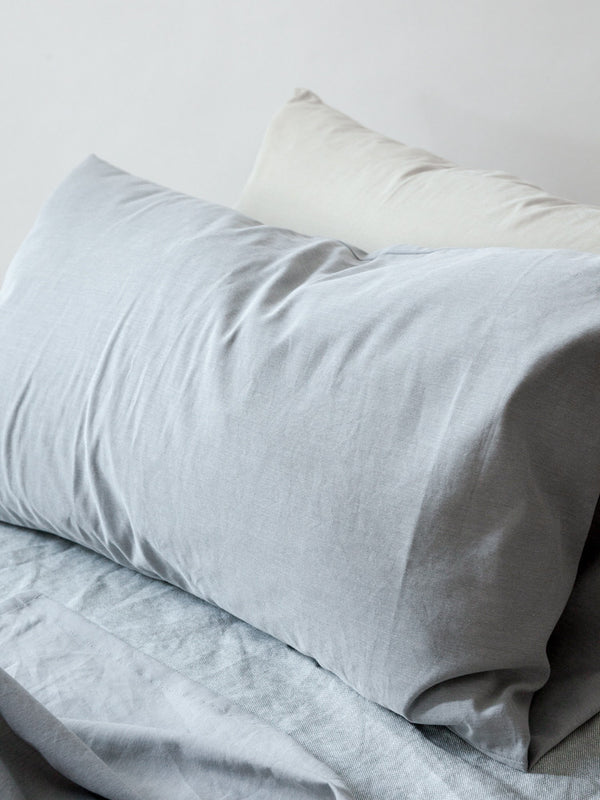 Sasawashi Pillow Case, Grey