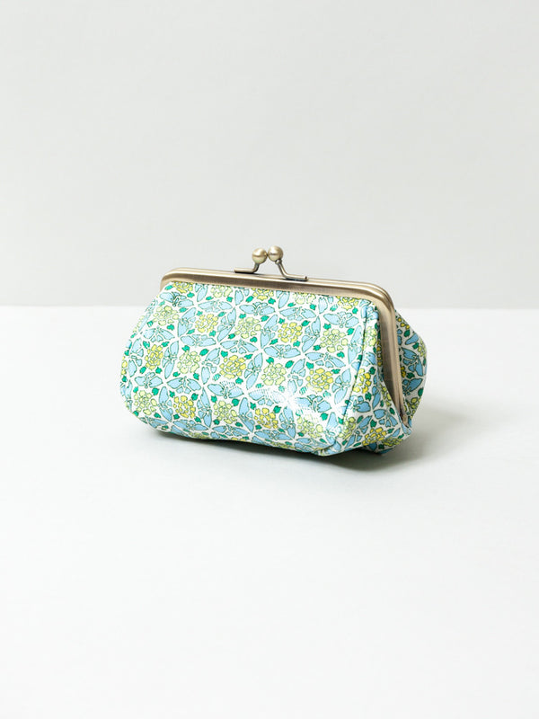 Botan and Butterfly Blue Cosmetic Bag