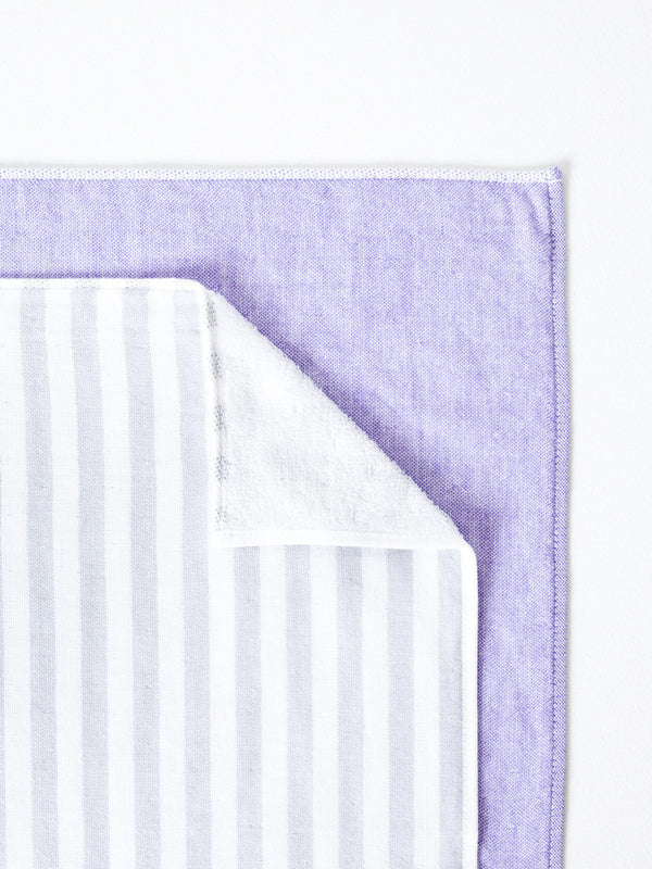 Square Towel, Violet