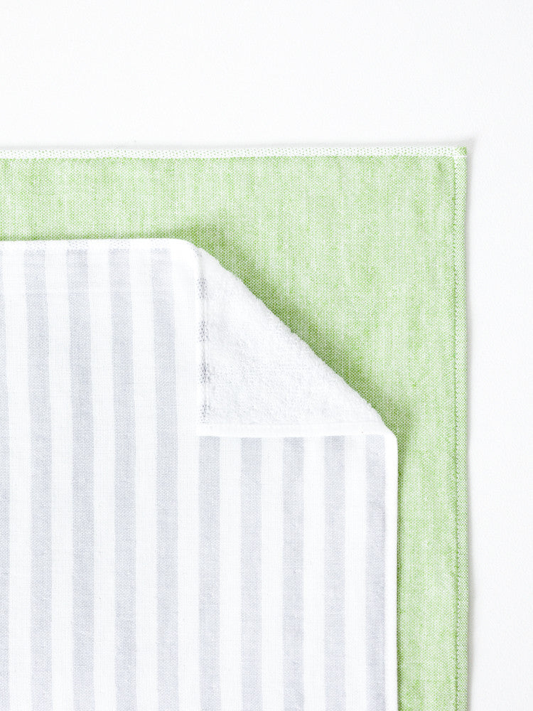 Square Towel, Green