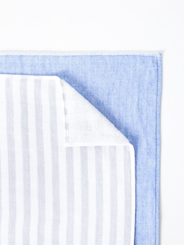 Square Towel, Blue
