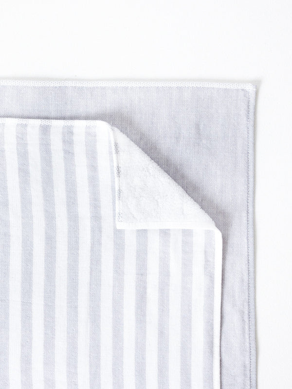 Square Towel, Light Grey