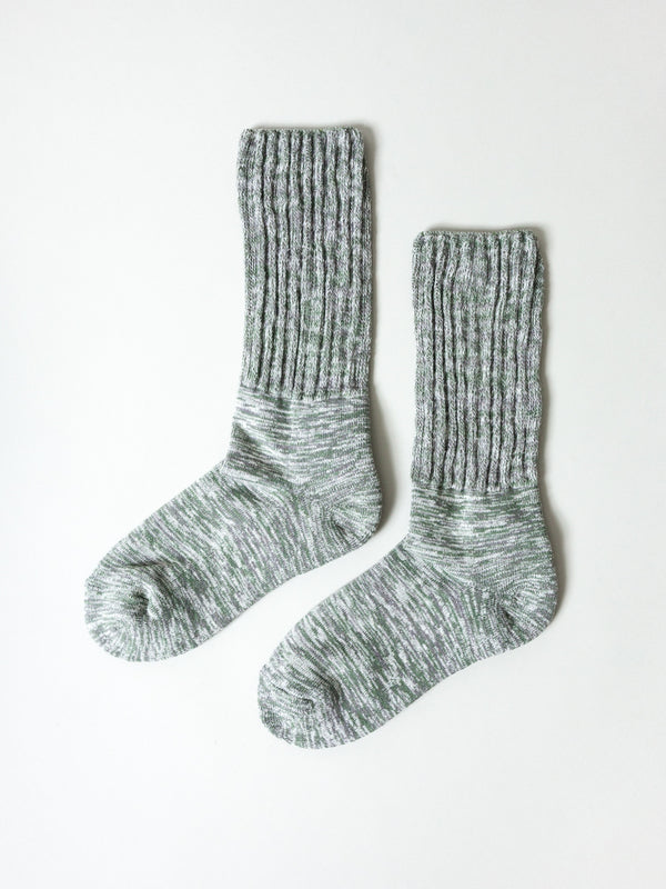 Mekke Socks, Heather Green